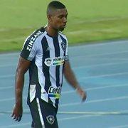 Kanu fica suspenso, e Botafogo terá Carli e Gilvan como principais opções contra o Nova Iguaçu