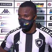 Kayque admite atuação ruim do Botafogo no clássico: 'Sabemos que precisamos melhorar muito'