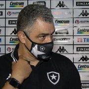 'Necessidade de resultados com elenco em montagem é um risco', alerta blog sobre Chamusca no Botafogo