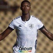 Joel Santana torce para Botafogo não vender Matheus Babi: 'É um jogador que vai dar certo'