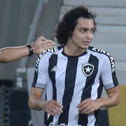 Matheus Nascimento lamenta empate do Botafogo: 'Bangu estava bem retrancado'