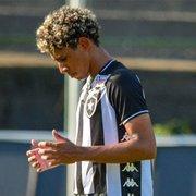 Davi Araújo e PV, do sub-20, são novidades na lista de relacionados do Botafogo contra o Bangu