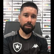 Caio Alexandre 'invade' live do Botafogo com Ricardinho, que agradece carinho: 'Uma pena não jogar do teu lado'