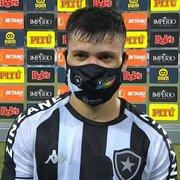 Ronald lamenta derrota do Botafogo: 'Não conseguimos fazer o que treinamos na semana'