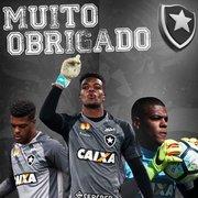 Goleiro se despede do Botafogo: 'Levarei tudo que aprendi e a honra de ter vestido uma das maiores camisas do país'