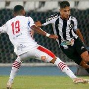 Sousa cita cansaço e valoriza empate do Botafogo: 'Esse ponto vai nos ajudar lá na frente'