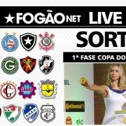 AO VIVO! FogãoNET comenta sorteio da 1ª fase da Copa do Brasil-2021 e analisa adversário do Botafogo