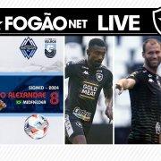 LIVE DE SEXTA – Caio Alexandre vai para o Canadá | Carli é anunciado pelo Botafogo | Gatito apresenta melhora