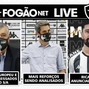 LIVE DE SEXTA – Fundos interessados na Botafogo S/A   Mais reforços à vista   Lateral-direito é oferecido