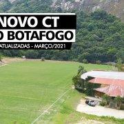 VÍDEO – CT do Botafogo tem obras de três campos concluídas; veja imagens atualizadas