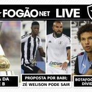 LIVE DE SEXTA – Proposta por Matheus Babi; Zé Welison pode sair; Botafogo atualizará dívida de Arão; tabela da Série B