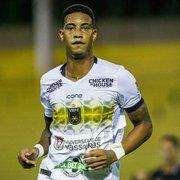 Alvo do Botafogo, Alef Manga recebe proposta do Fortaleza