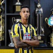 Alvo do Botafogo, Alef Manga tem multa rescisória de R$ 2,5 milhões para clubes brasileiros