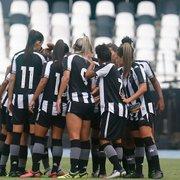 VÍDEO AO VIVO: Botafogo recebe o Palmeiras no Brasileiro Feminino e busca primeira vitória