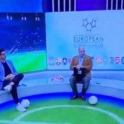 TV portuguesa coloca Botafogo ao lado de Barcelona e Milan na Superliga Europeia durante programa ao vivo