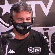 Ídolo do Botafogo enumera reforços necessários: 'Para dar consistência'
