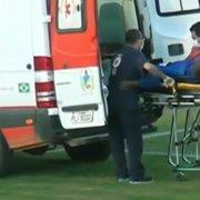 Próximo rival: Andrey, ex-goleiro do Botafogo, dá susto e vai parar no hospital