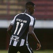 Negociação de Matheus Babi com Athletico-PR é concluída, e Botafogo não ficará com percentual