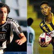 Botafogo nega possibilidade de envolver Matheus Nascimento em troca por Alef Manga