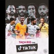 Botafogo x Nova Iguaçu e Vasco x Madureira: Taça Rio terá transmissão gratuita no TikTok