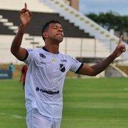 Sem chances para a Lei do Ex: Wallyson é confirmado como desfalque no ABC contra o Botafogo