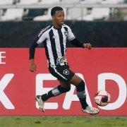 Botafogo nega contato do Valladolid por Ênio, alvo também de França e Portugal; multa é de R$ 177 milhões