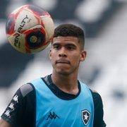 Botafogo: Cesinha não é relacionado por Chamusca para final da Taça Rio contra o Vasco