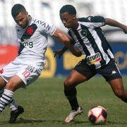 Comentarista: 'Vasco passa impressão de estar acima do Botafogo, mas fez jogo pouco melhor'