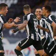 No último jogo antes da Série B, Botafogo mostra evolução, mas ainda precisa corrigir velho problema