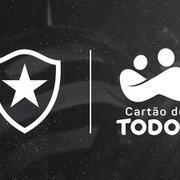 BOTAFOGO ANUNCIA NOVO PATROCINADOR PARA OS MEIÕES: CARTÃO DE TODOS