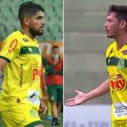 Mirassol confirma empréstimos de Daniel Borges e Luís Oyama ao Botafogo
