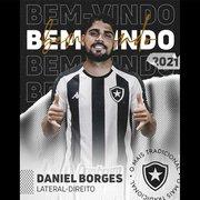 BOTAFOGO ANUNCIA CONTRATAÇÃO DE LATERAL-DIREITO DANIEL BORGES