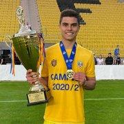 (OFF) Após deixar o Botafogo, Fernando comemora título na Moldávia e vaga na Champions League