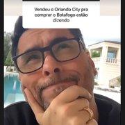 Após vender Orlando City por R$ 2 bilhões, empresário brasileiro brinca com pergunta sobre 'compra do Botafogo'