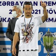 OFF – Ex-Botafogo, Honda é campeão no Azerbaijão com dois brasileiros no time e poderá jogar a Champions League