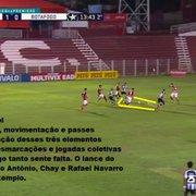 Análise: sem repertório ofensivo, Botafogo não aproveita vantagem de ter um a mais em empate com Vila Nova
