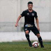 Luís Oyama é regularizado pelo Botafogo e pode estrear contra o Coritiba