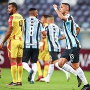Ex-Botafogo, Luiz Fernando leva nota 10 em goleada do Grêmio e colunista se empolga: 'Driblava feito Garrincha'