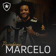 Botafogo parabeniza alvinegro Marcelo, do Real Madrid, pelo aniversário de 33 anos