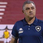 Blog: 'Falta qualidade ao Botafogo. Chamusca precisa de mais treinos para ter time intenso'