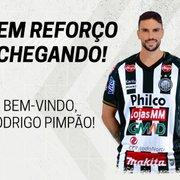 (OFF) Ex-Botafogo, Rodrigo Pimpão deixa CSA e acerta com outro clube da Série B
