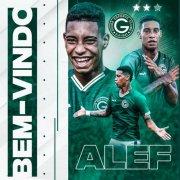 Outrora especulado no Botafogo, Alef Manga é anunciado pelo Goiás