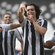 Com gol de Matheus Nascimento, Botafogo domina Floresta e vai às semifinais da Copa do Brasil Sub-20