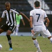 Técnico do sub-20 elogia Vitor Marinho, novidade no banco do Botafogo neste domingo