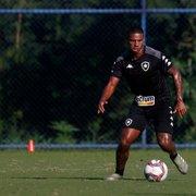 De contrato renovado, Rickson só foi relacionado em um jogo do Botafogo na Série B