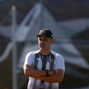 Botafogo pondera pontos negativos caso demita Marcelo Chamusca