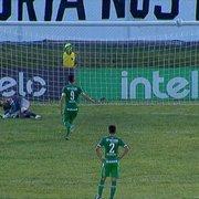 (OFF) Outrora especulado no Botafogo, Anselmo Ramon perde pênalti de 'cavadinha', e Chapecoense é eliminado pelo ABC