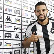 Cão de guarda, Barreto se apresenta ao Botafogo, cita experiência na Série B e dá a receita: 'Cara fechada'