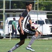 Bernardo Valim, do Botafogo, é convocado para a Seleção Brasileira Sub-15