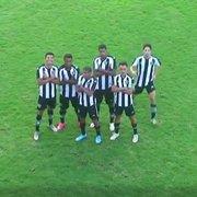 Base: Botafogo supera Atlético-GO e vence a primeira no Brasileiro Sub-17